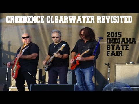 creedence clearwater revisited , 2015 Indiana State Fair in HD