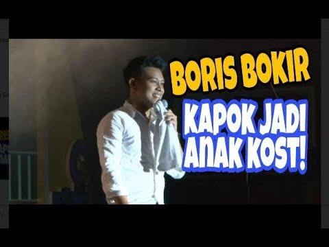 BORIS BOKIR KAPOK JADI ANAK KOS & NAIK JETCOSTER DUFAN! STAND UP COMEDY