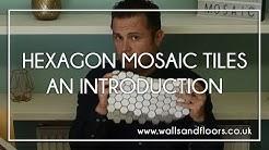 White Hexagon Matt Mosaic Tiles - An Introduction