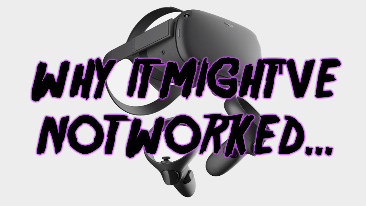 How To Fix Roblox Vr Not Working With Oculus Quest Youtube