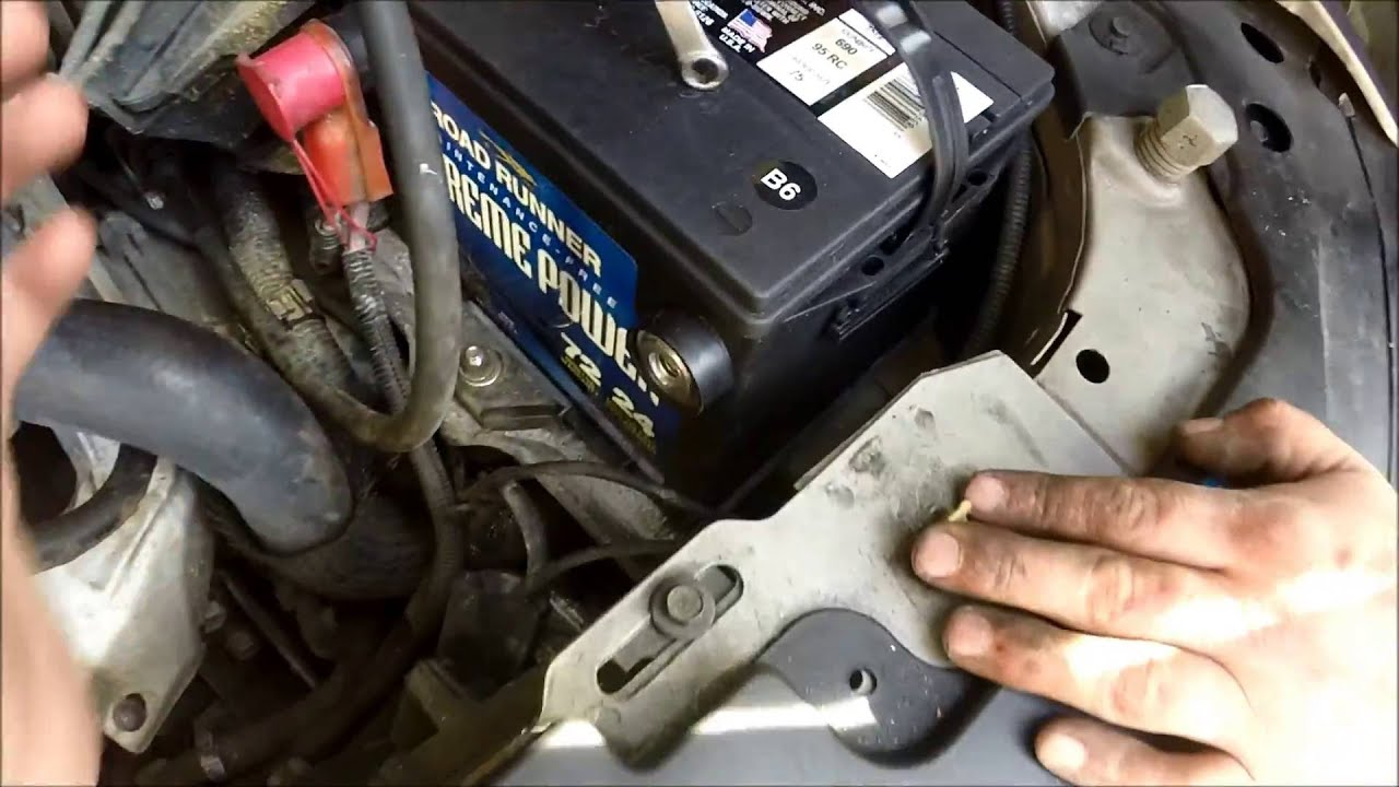 hight resolution of 1999 2005 pontiac grand am oldsmobile alero battery replacement