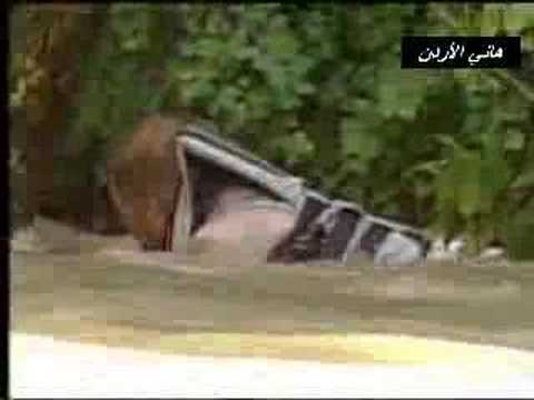 Save man from drowning in the river انقاذ رجل من الغرق