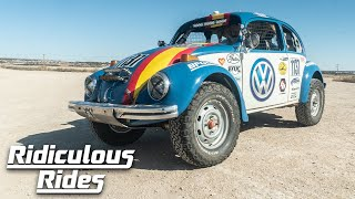 Custom VW Tackles Brutal Desert Race | RIDICULOUS RIDES