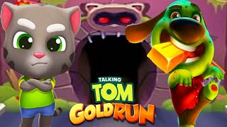 Talking Tom Gold Run - TALKING BABY TOM & ZOMBIE HANK in All World Maps