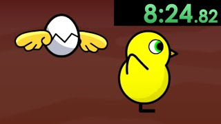 I decided to speedrun Duck Life: Treasure Hunt and became the richest duck in the universe