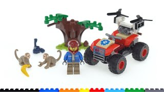 LEGO City 2021 Wildlife Rescue ATV 60300 review! Small, cheap, and good