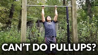 You CAN do pullups, my friend!
