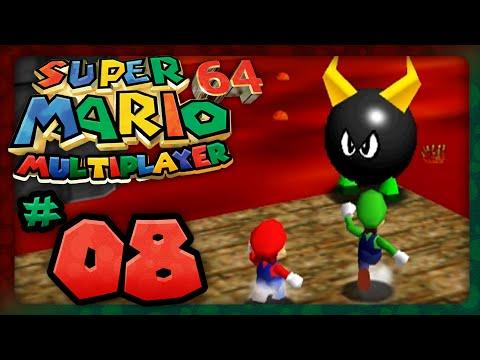 Super Mario 64: Multiplayer - Part 8: Bullies Are Hot! (2 Player)