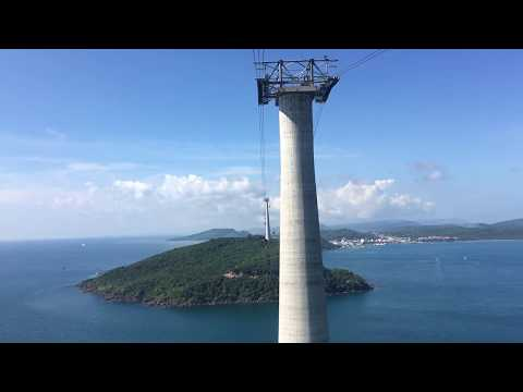 Riding the world's longest cable car in Phu Quoc, Vietnam!