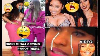 Nicki Minaj Crying about Cardi B but its LiL KiM Karma? 😢 #NickiDay