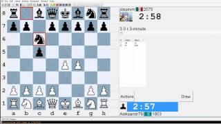 Шахматы блиц на ICC chessclub.com