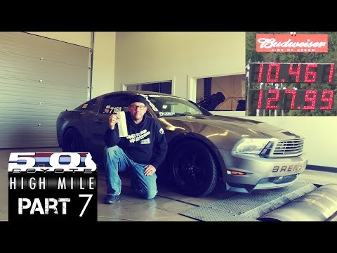 High Mile Coyote Mustang Episode 7: High Mile Goes 10's With The Help Of Zex Nitrous
