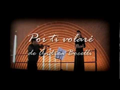 Por ti volare m sica para bodas soprano viol n y for Porte volare