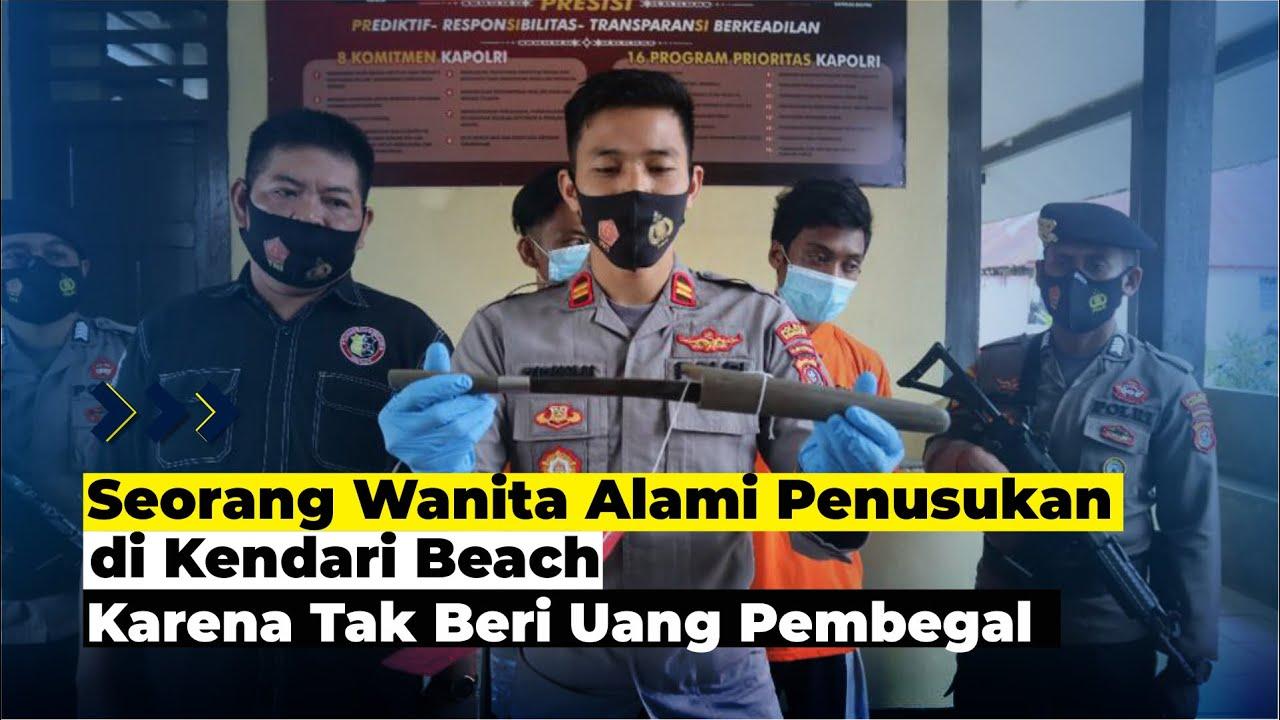 Pelaku Penikaman di Kendari Beach Berhasil Dibekuk Polisi