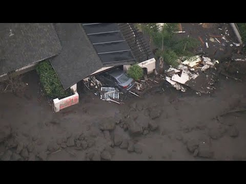 Search continues for victims of deadly California mudslides
