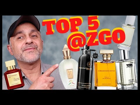 MY TOP 5 FAVORITE PERFUME BRANDS @ZGOPERFUMERY | ABEL GREY LABDANUM | 20% Off PERFUMES | USA GVWY