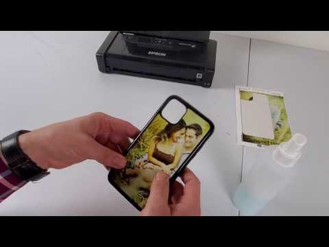 How to create Personalized Custom Cell Phone Cases Creator DIY Software + Material