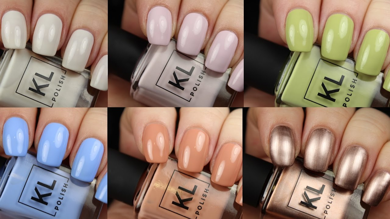 KL Polish Spring from Kathleen Lights | Live Application Review ...