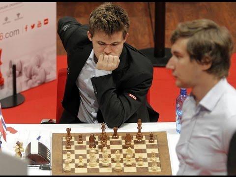 Карякин зевнул ферзя Магнусу Карлсену, а тот не заметил! 2 круг турнира в Бильбао