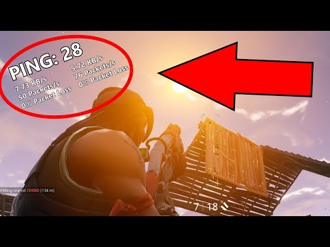 How To Show The Ping Counter In Fortnite!