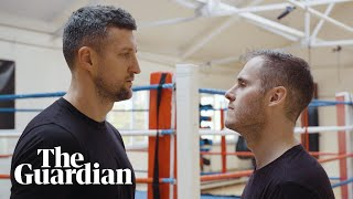 Guardian sport's Gregg Bakowski faces a few rounds of body sparring with Carl Froch at his hometown gym, the Phoenix Boxing Gym in Nottingham. Gregg tests ...