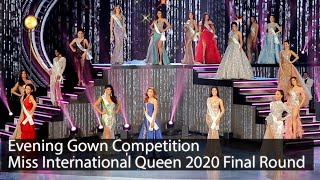 [Full HD]Miss International Queen 2020 Final Round | Evening Gown Competition  | VDO BY POPPORY