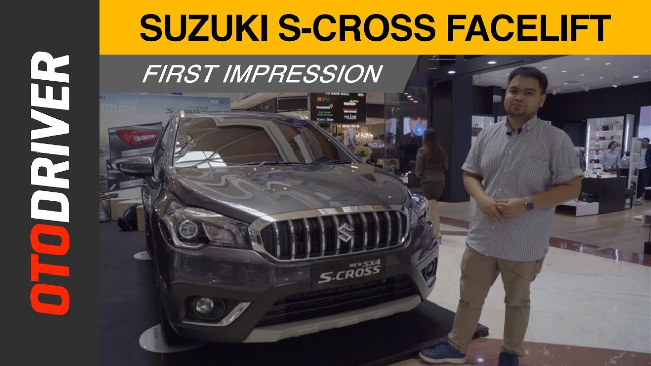 Suzuki SX4 S-Cross First Impression Review Indonesia | OtoDriver