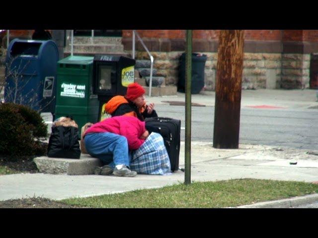 Feeding The Homeless Prank