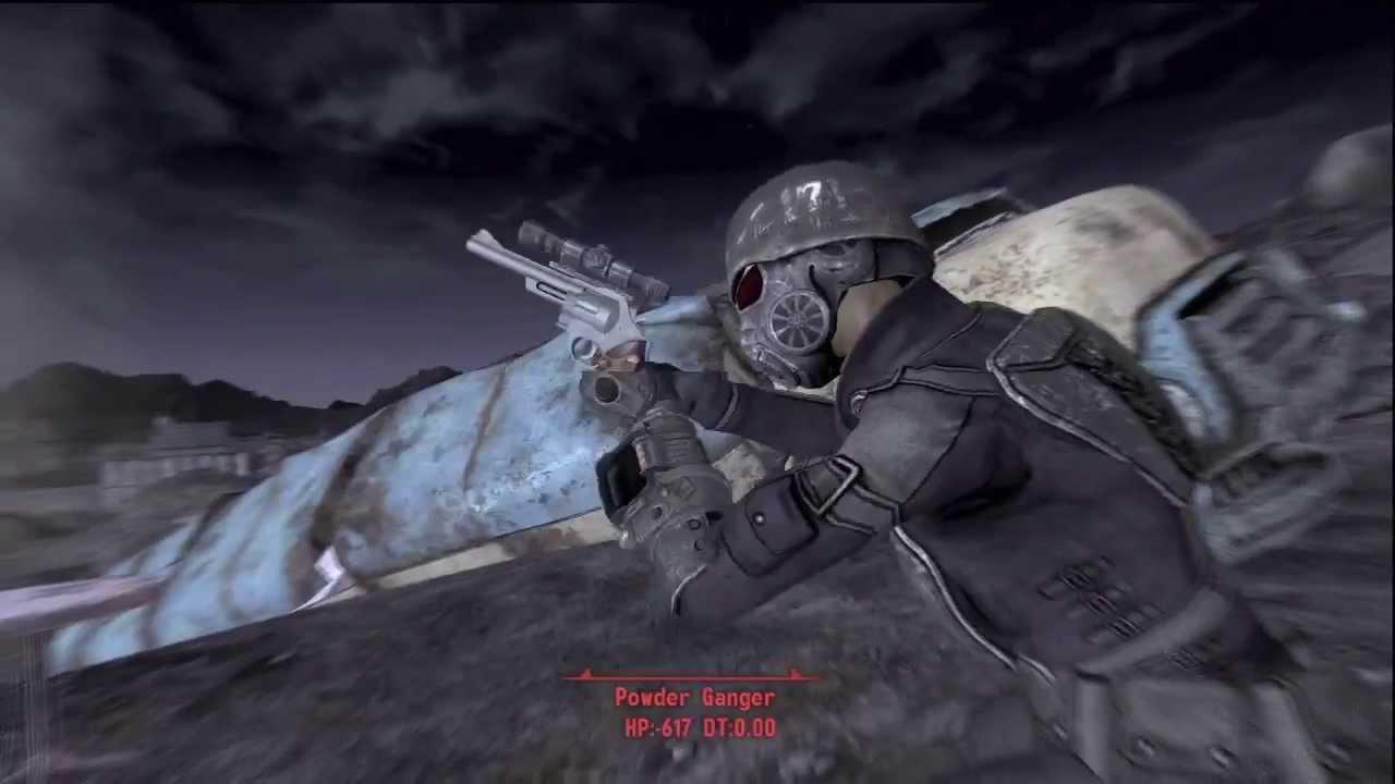 магнум 44 таинственного незнакомца fallout 3