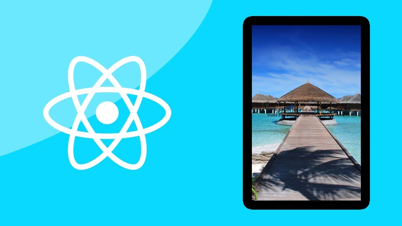 React Native Tutorial - How To Use An Image As App Background