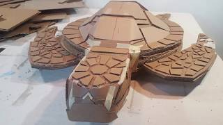 The Making of a Cardboard Sea Turtle
