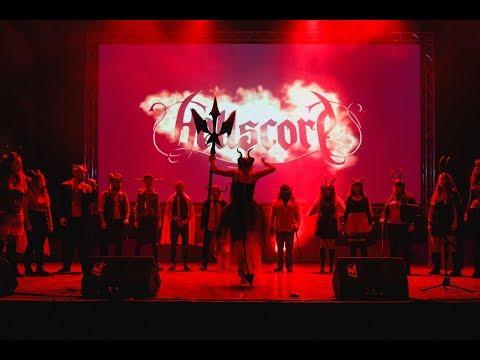 Hellscore - ATTACK ON TITAN Op.1 - Guren No Yumiya - live A Cappella cover - 동영상