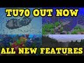 Minecraft Xbox 360 / PS4 TU70 OUT NOW ALL FEATURES