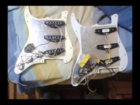 Fender Custom Shop Texas Special Vs Stock Pickups In Mim Standard