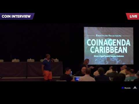 Abeed Janmohamed, CEO Papyrus, CoinAgenda Caribbean