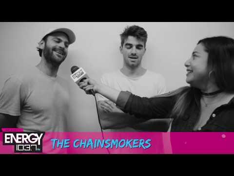 Tonya Interviews The Chainsmokers!