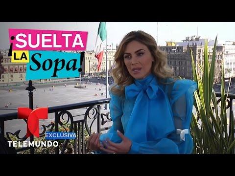 Aracely Arámbula habló de su romance con Luis Miguel | Suelta La Sopa | Entretenimiento