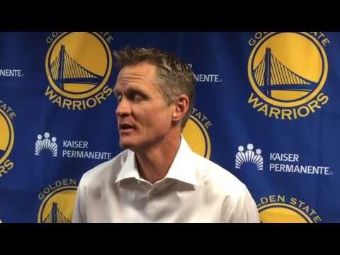 Steve Kerr on the Cavaliers Warriors rivalry