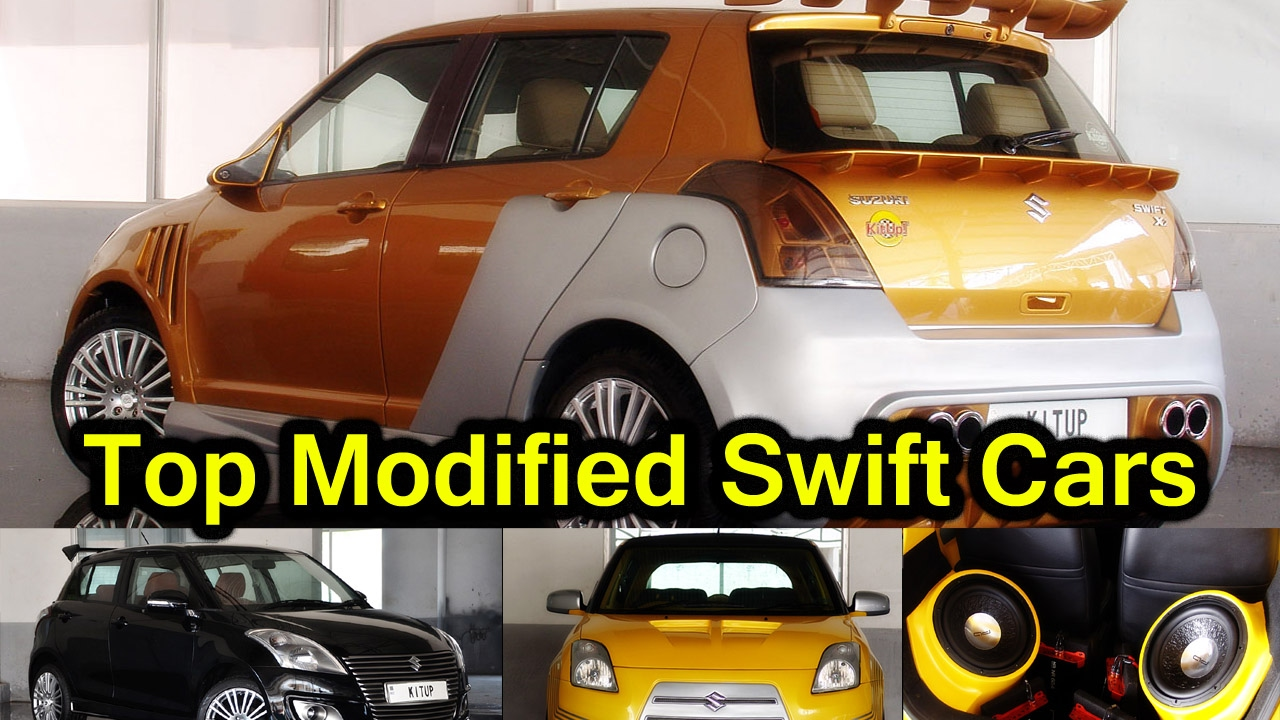 modified swift cars maruti suzuki swift interior exterior modification youtube. Black Bedroom Furniture Sets. Home Design Ideas