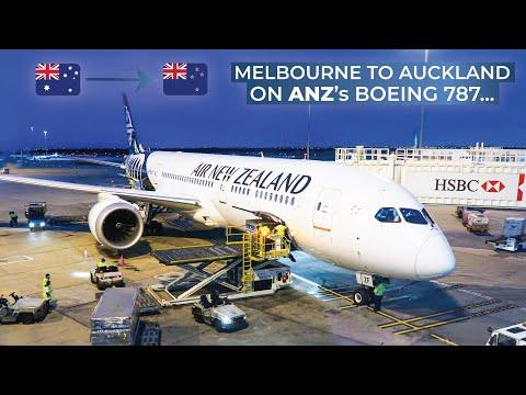 TRIPREPORT   Air New Zealand (ECONOMY)   Boeing 787-9   Melbourne - Auckland