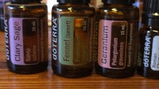 Making Your Own Hormone Essential Oil Blend