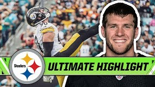 Best Plays from T.J. Watt's Dominant 2018 Season   Steelers Ultimate Highlight