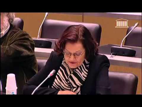 Elisabeth ROUDINESCO commission des lois sur le mariage pour tous