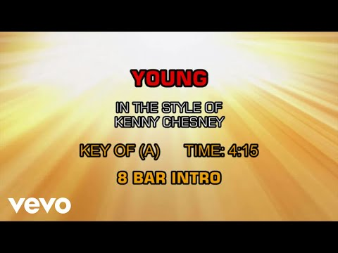 Kenny Chesney - Young (Karaoke)
