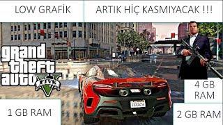 GTA 5 DÜŞÜK SİSTEMLİ PC LOW GRAFİK VE YAPARKEN YAPILAN HATA KESİN İZLE !!!