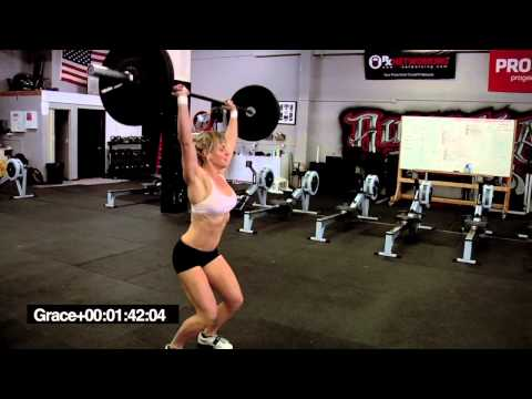"CrossFit - Karianne Dickson does ""Grace"""