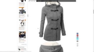 Обзор с AliExpress куртка весенне осенняя для девочек с капюшоном МагазинVangull Fashion Store