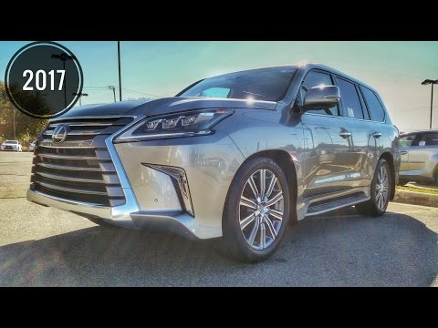 2017 / 2018 Lexus LX570 Review The Most Expensive Lexus SUV Review /Start Up /Interior /Exterior