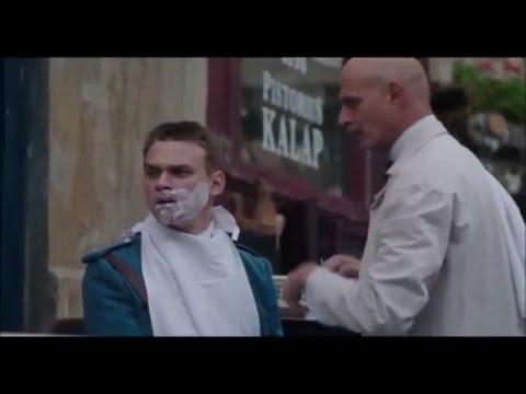 Wilsonov  (2015) - holící scéna