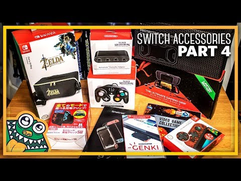 10 NEW Nintendo Switch Accessories - Part 4 - List and Overview + GIVEAWAY!